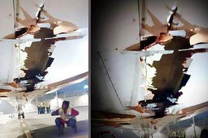 Cho máy bay thủng bụng cất cánh, hai phi công Ấn Độ bị đình chỉ