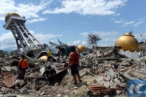 Tiếp tục xảy ra động đất tại Indonesia