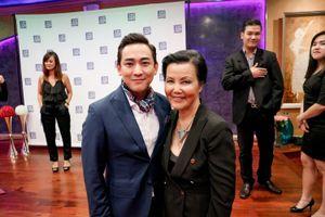 Hứa Vĩ Văn hội ngộ một trong tứ đại mỹ nhân màn ảnh Việt tại Mỹ