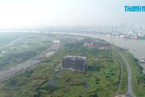 Toàn cảnh khu đất ngàn tỷ xây nhà hát Thủ Thiêm nhìn từ trên cao