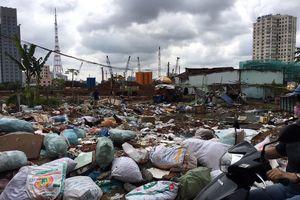 'Khu đô thị mới ngộp thở vì rác' đã thu dọn sạch sẽ