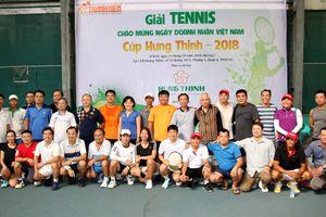 Sôi nổi giải quần vợt chào mừng ngày doanh nhân Việt Nam