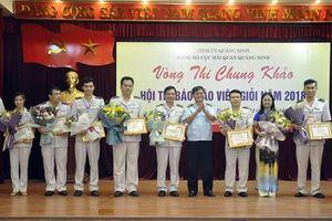 Hải quan Quảng Ninh tổ chức Hội thi báo cáo viên giỏi