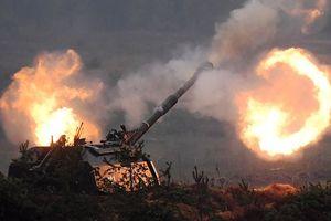 Quân đội Syria nã đạn pháo thông minh diệt khủng bố