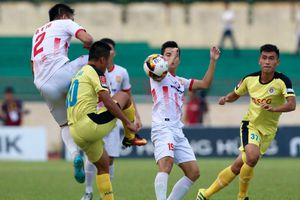 Nam Định đánh bại Hà Nội B trong loạt luân lưu, ở lại V-League