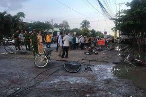 Dây điện đứt trước cổng trường học, hai học sinh tử vong thương tâm