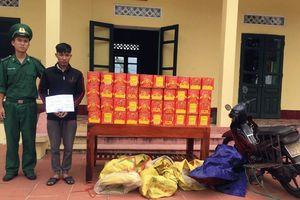 Quảng Ninh: Bắt giữ đối tượng vận chuyển trái phép 120kg pháo
