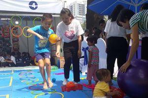 Ngày hội văn hóa hòa bình TP.HCM: Thành phố thân thiện với trẻ em