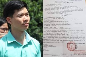 Hoàng Công Lương lần thứ 3 thay đổi tội danh, cấm đi khỏi nơi cư trú