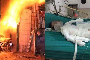 Vụ tẩm xăng đốt nhà bố vợ: Bé trai 6 tuổi bị bỏng nặng đã tử vong
