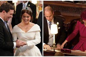 Đám cưới Công chúa Eugenie - Nhưng Hoàng tử William và Công nương Kate mới là người chiếm 'spotlight'