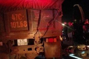 Đắk Lắk: Nữ trung úy công an tử vong khi va chạm với ôtô tải