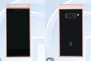 Samsung W2019, điện thoại nắp gập vừa được tiết lộ