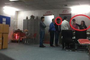Đang làm rõ nhóm người lạ mặt xông vào 'đại náo' tòa soạn cơ quan báo chí