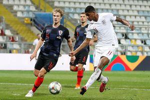 Toàn cảnh trận hòa đáng tiếc của Anh trước Croatia