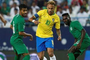 Neymar lập cú đúp kiến tạo, Brazil thắng Saudi Arabia 2-0