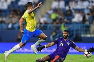 Toàn cảnh Saudi Arabia 0-2 Brazil: Jesus và Sandro thi nhau 'nổ súng'
