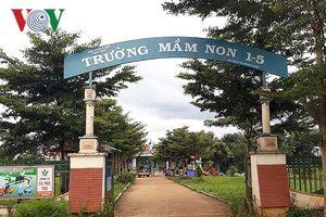 Gia Lai đóng cửa một trường mầm non vì dịch tay chân miệng