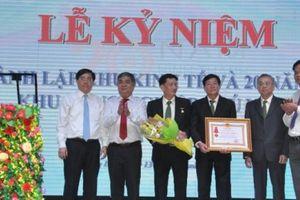 Ban quản lý Khu kinh tế Phú Yên đón nhận Huân chương Lao động hạng Ba
