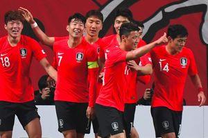 Hàn Quốc xuất sắc đánh bại Uruguay