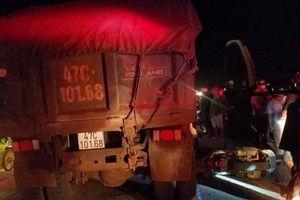 Nữ trung úy công an bị xe ben tông chết thương tâm