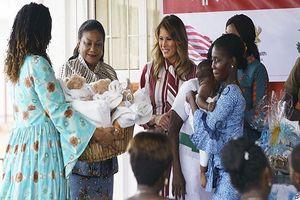 Đệ nhất phu nhân nước Mỹ Melania Trump làm gì trong chuyến công du châu Phi?