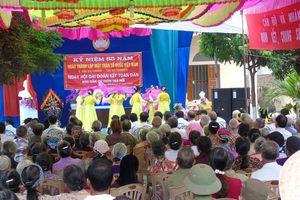 Quảng Trị: Tổ chức ngày hội Đại đoàn kết theo đặc điểm, tình hình địa phương