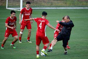 Các tuyển thủ Việt Nam không áp lực ở AFF Cup 2018