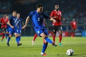 Tuyển Thái Lan đánh bại Trinidad &Tobago