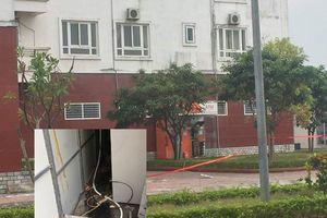 Phát hiện 10 quả mìn đặt ở cây ATM cạnh tòa chung cư ở Quảng Ninh