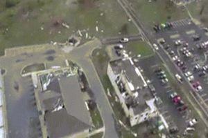 Siêu bão Michael tàn phá tiêm kích tàng hình F-22 giấu kỹ ở căn cứ Mỹ