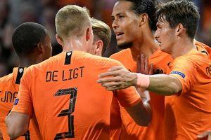 Địa chấn Nations League, 'lốc da cam' Hà Lan cuốn phăng 'xe tăng' Đức