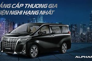 'Soi' Toyota Alphard 2018 tăng giá hơn 500 triệu tại Việt Nam