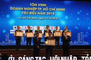 TPHCM: Tôn vinh Doanh nghiệp và Doanh nhân tiêu biểu năm 2018