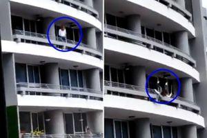 Ngồi lên lan can tầng 27 chụp ảnh selfie, người phụ nữ chết thảm