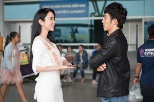 'Người tình Isaac' tiễn Huỳnh Vy lên đường dự thi hoa hậu