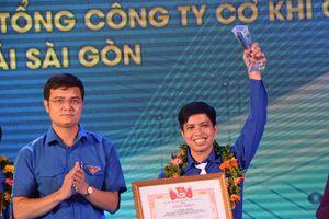 Trao Giải thưởng Nguyễn Văn Trỗi cho 32 gương thanh niên công nhân tiêu biểu