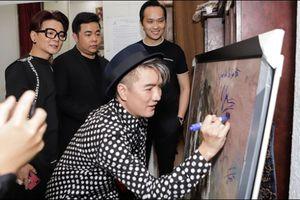 Giới họa sĩ phản ứng việc Đàm Vĩnh Hưng, Lệ Quyên, Quang Lê ký tên lên tranh