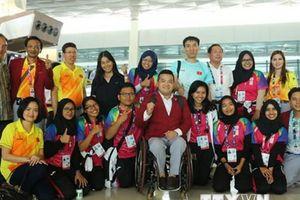 Đoàn thể thao người khuyết tật Việt Nam lên đường về nước