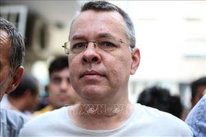 Mỹ, Thổ Nhĩ Kỳ hy vọng cải thiện quan hệ sau khi mục sư Brunson được phóng thích