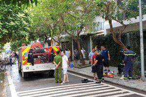 Hà Nội: Cháy lớn tại Khu đô thị Trung Văn, 5 người thoát chết