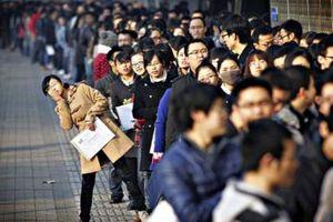 Số người thất nghiệp của Hàn Quốc lần đầu tiên vượt 1 triệu người