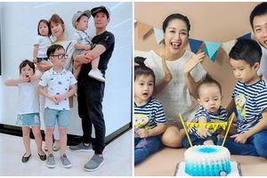 Những gia đình đông con nhất showbiz Việt khiến fan vừa tò mò vừa ngưỡng mộ