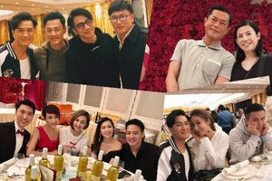 Bữa tiệc sinh nhật quy tụ đầy đủ dàn sao TVB khiến 'fan cứng' bồi hồi