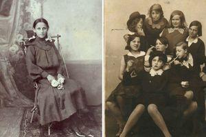 Những bức ảnh hiếm về nam thanh nữ tú cách đây 100 năm
