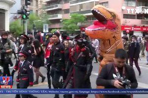 Ngày hội 'Zombie walk' ở Chile