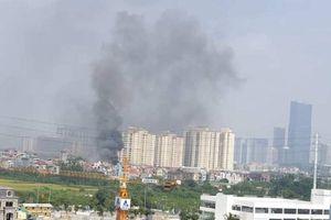 Hà Nội: Cháy lớn tại khu đô thị Trung Văn Vinaconex 3, nghi có người thiệt mạng