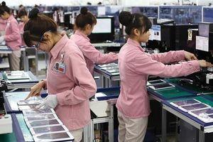 Kim ngạch xuất khẩu điện thoại và linh kiện tăng cao