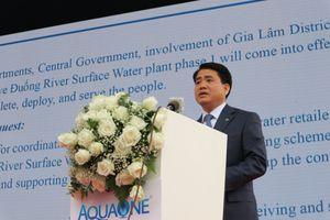 Hà Nội: Nhà máy nước sạch lớn nhất miền Bắc đi vào hoạt động