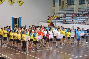 Giao lưu thể thao khối thi đua các Ban xây dựng Đảng và cơ quan thuộc Tỉnh ủy